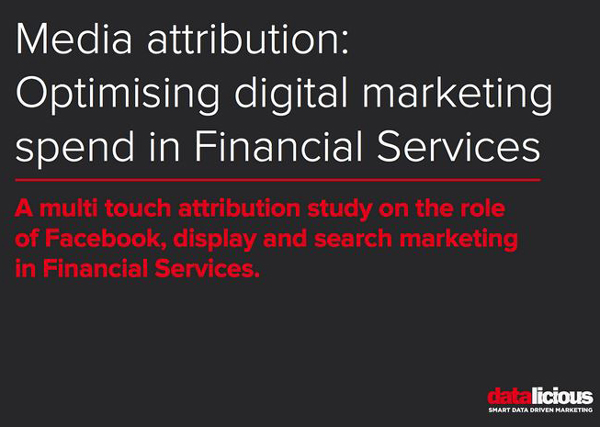 Optimising digital marketing spend financial services