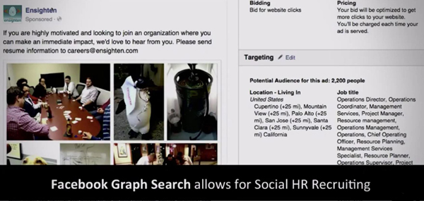 Facebook social HR recruiting