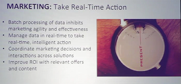 Marketing - Take real-time action