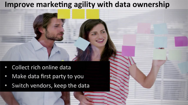 marketing agility data ownership