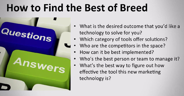 How to find the best of breed