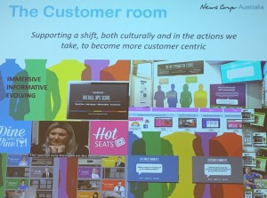 News Corp Customer Room
