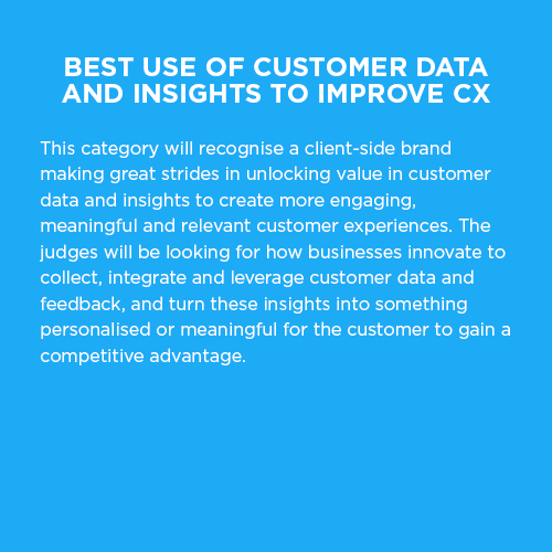 best-use-of-customer-data-and-insights
